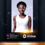 Nana Ama Agyekum is representing Ashanti at Miss Universe Ghana 2017