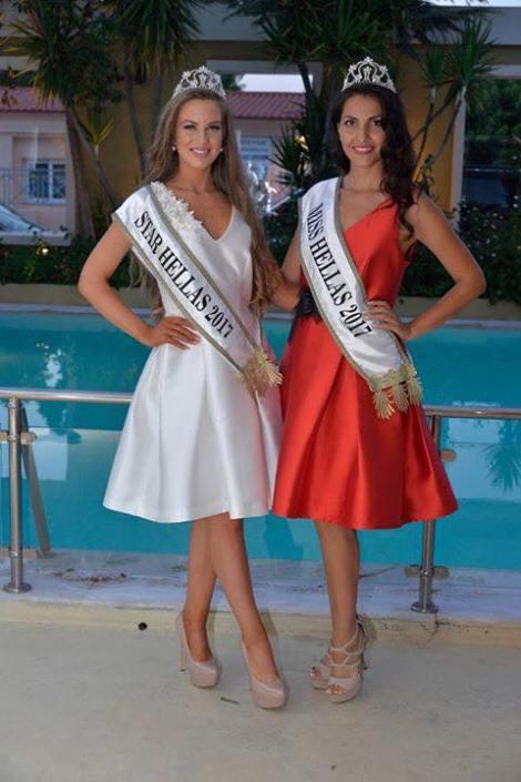 Star Hellas 2017, Maria Psilou & Miss Hellas 2017,Theodora Soukia