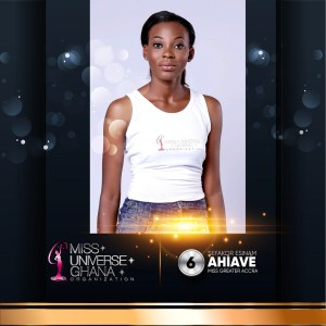 Sefakor Esinam Ahiaveis representing Greater Accra region at Miss Universe Ghana 2017
