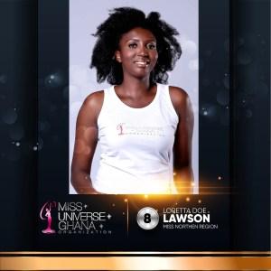 Loretta Lawson is representing Northern Region at Miss Universe Ghana 2017