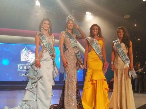 Yasmin Pinto wins Miss World Bolivia 2017