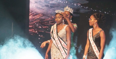 Khephra Sylvester is Miss British Virgin Islands 2017