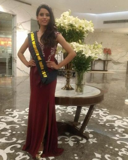 Bhairavi Burad, Miss Global International India 2017
