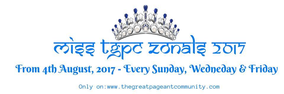Miss TGPC 2017 Zonals