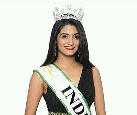 Shaan Suhas Kumar is Miss Earth India 2017