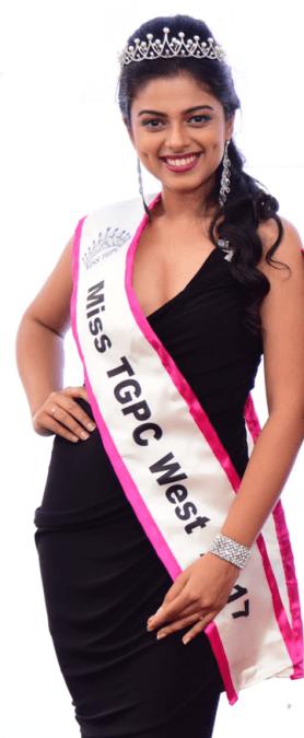 Siddhi Idnani (Miss TGPC West 2017)