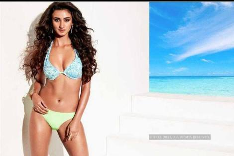 Elisha Mayor,  Miss Diva 2017 Bikini Shoot