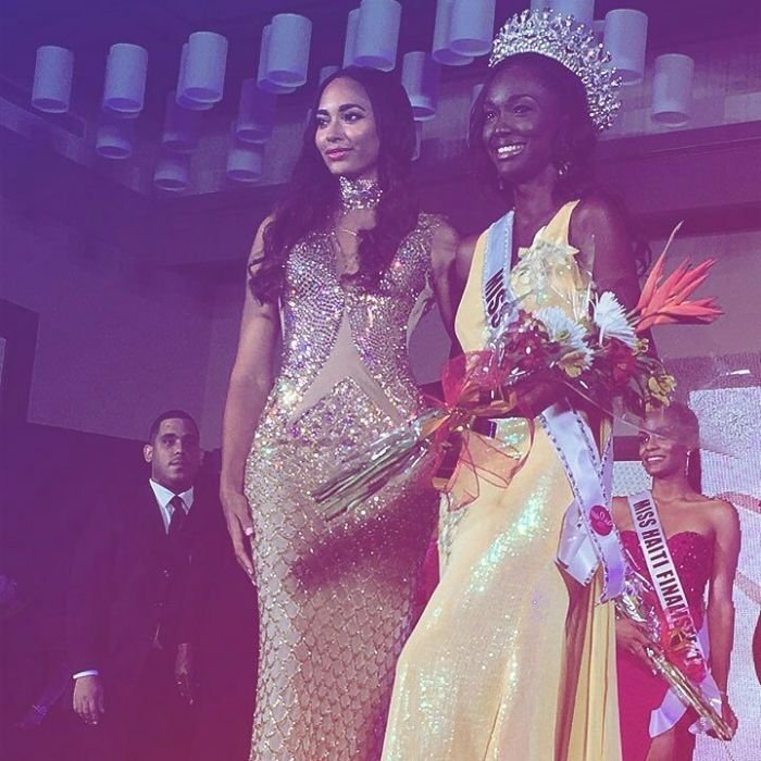 Cassandra Chery crowned as the winner of Miss Universe Haiti 2017