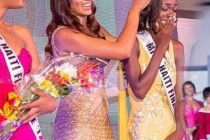 Cassandra Chery crowned as the winner of Miss Universe Haiti 2017