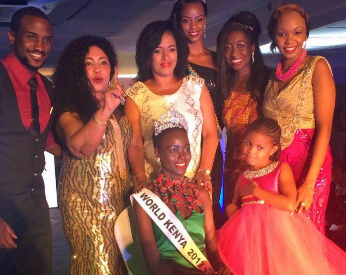 Magline Jeruto crowned as Miss World Kenya 2017