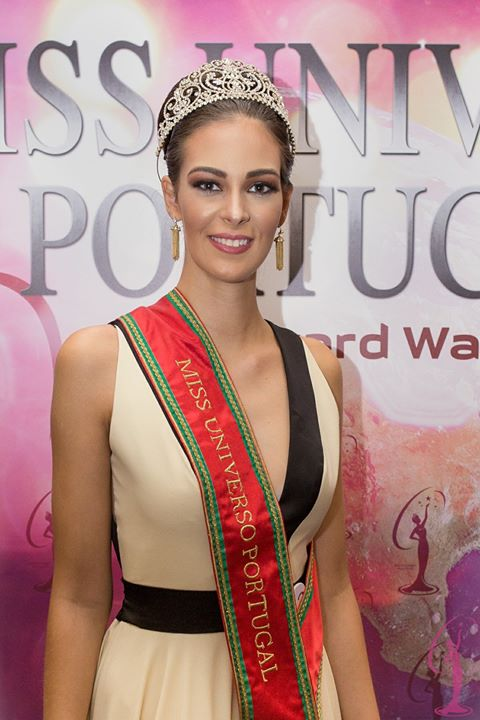 Matilde Lima was crowned as Miss Universe Portugal 2017