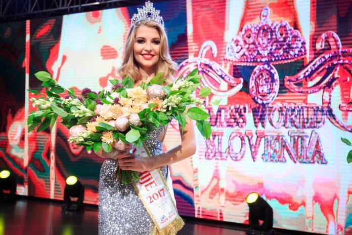 Maja Zupan crowned as Miss Slovenia 2017