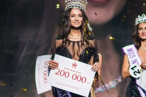 Polina Tkach was crowned as Miss World Ukraine 2017
