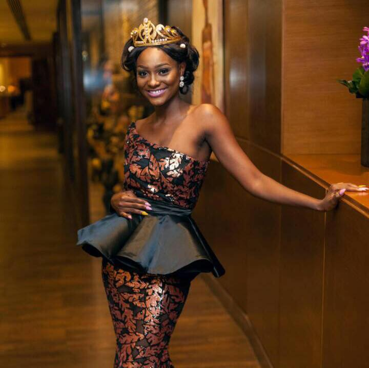 Aphua Akrofi is Miss World Ghana 2017