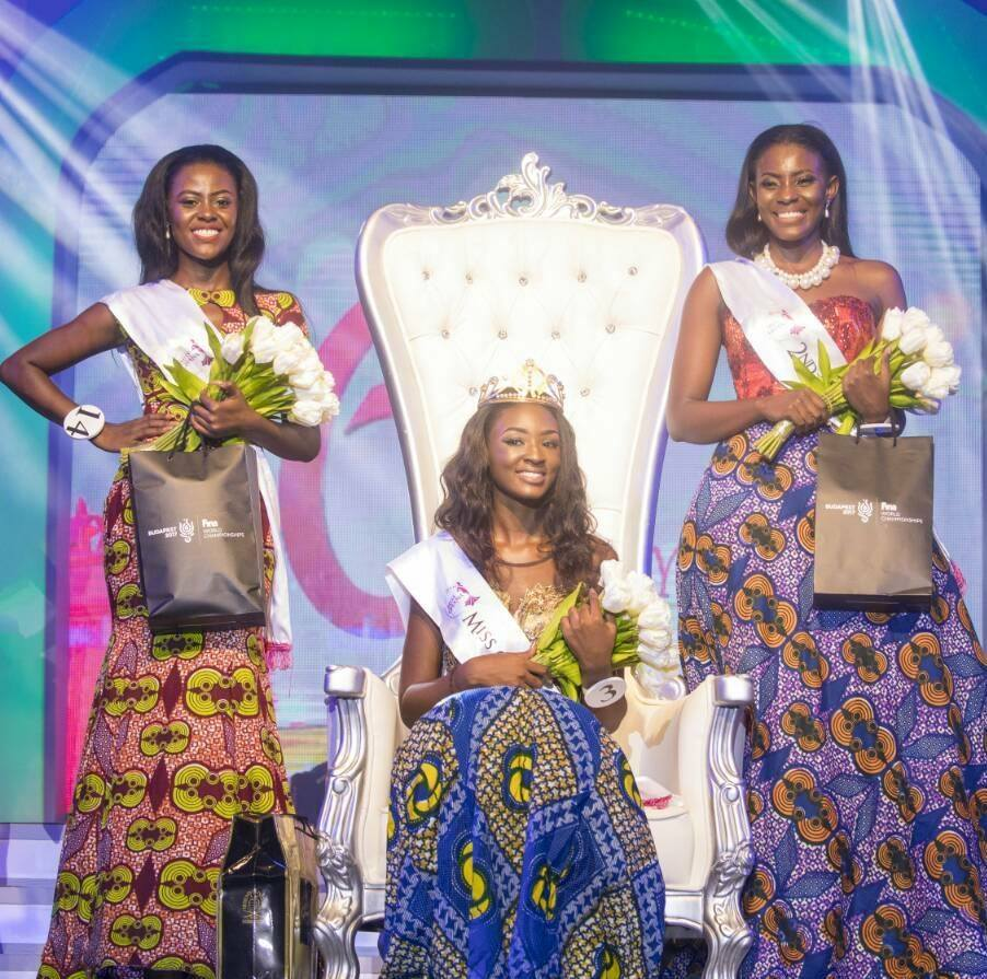 Margaret Derry Mwintuur wins Miss Ghana 2017