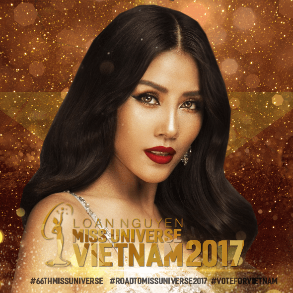 Nguyen Thi Loan is Miss Universe Vietnam 2017