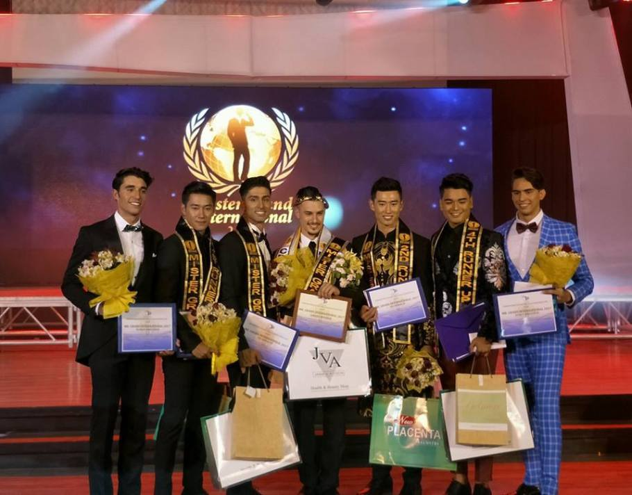 Michaelangelo Skyllas from Australia wins Mister Grand International 2017