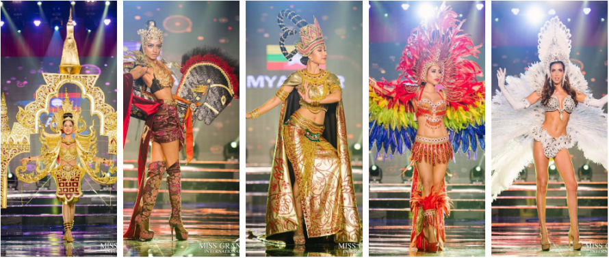 Top 15 Looks at Miss Grand International 2017 National Costume Round