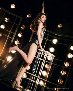 Jesudelvys Zharat Bruzual Acuña is representing Sucre at the Miss Venezuela 2017 pageant