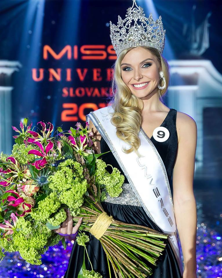 Vanessa Bottanova crowned as Miss Universe Slovakia 2017
