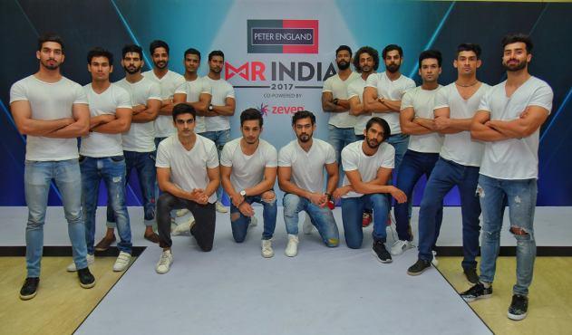 Peter England Mr India 2017 Contestants
