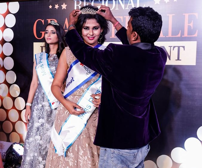 Neha Chaudhary, ex-Miss TGPC contestant, wins Miss Best Style Icon India West 2018
