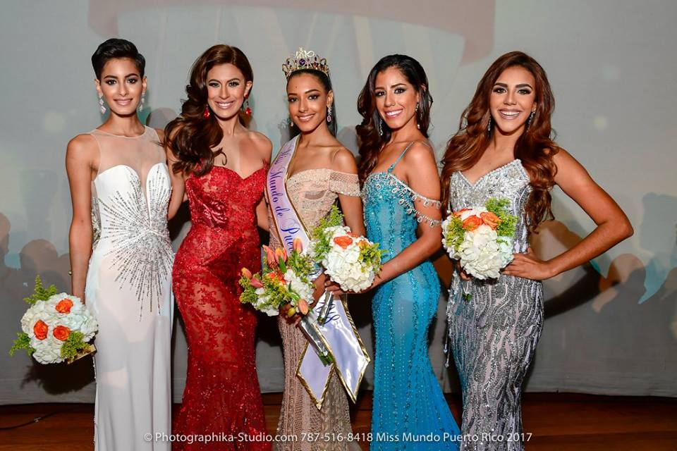 Dayanara Martinez wins Miss World Puerto Rico 2018