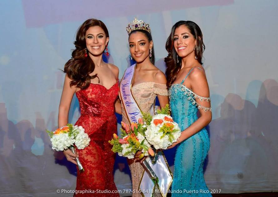 Dayanara Martinez wins Miss World Puerto Rico 2018