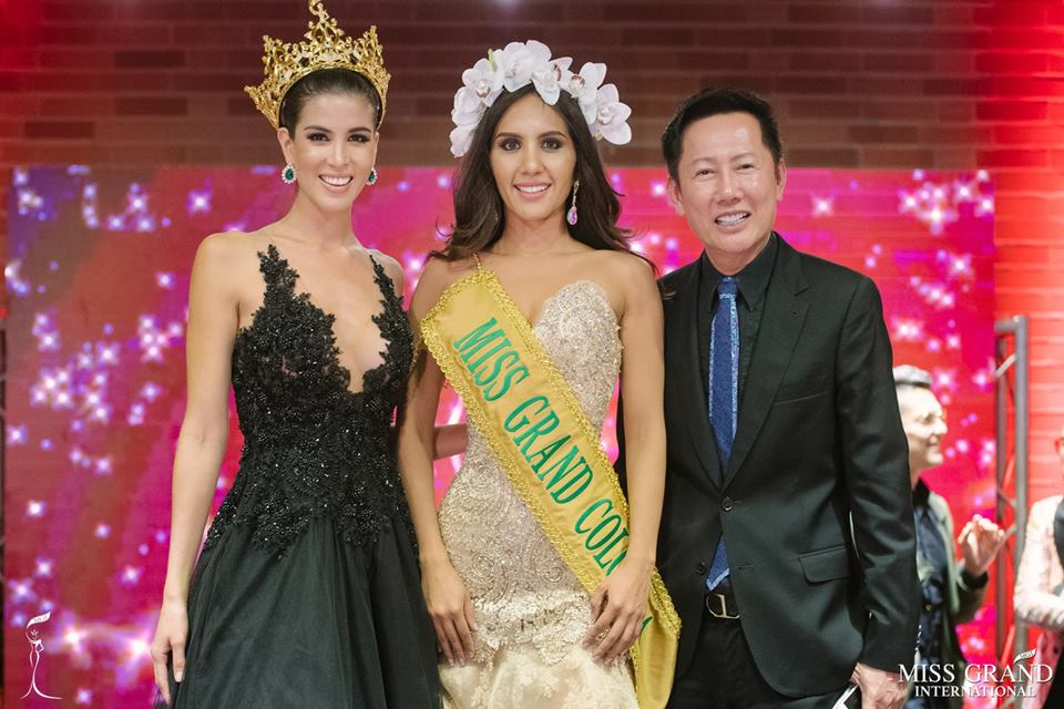 Genesis Quintero is Miss Grand Colombia 2018