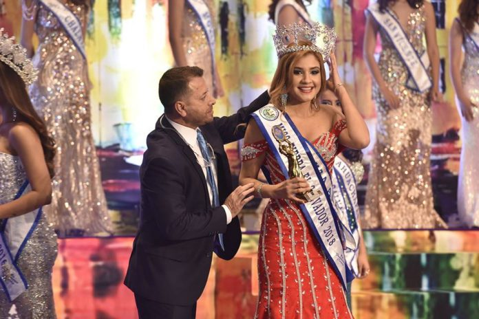 Andrea Jaco crowned as Miss Earth El Salvador 2018