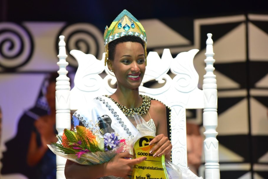 Liliane Iradukunda crowned as Miss Rwanda 2018