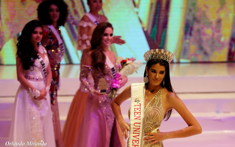 Melanie Cruz from Cuba wins Teen Universe 2018