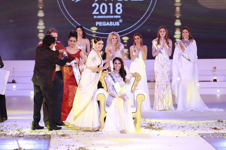 Estefania Chavez Garcia from Mexico crowned as Miss Glam World 2018