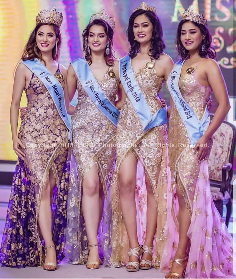 Miss Nepal 2018 Winners