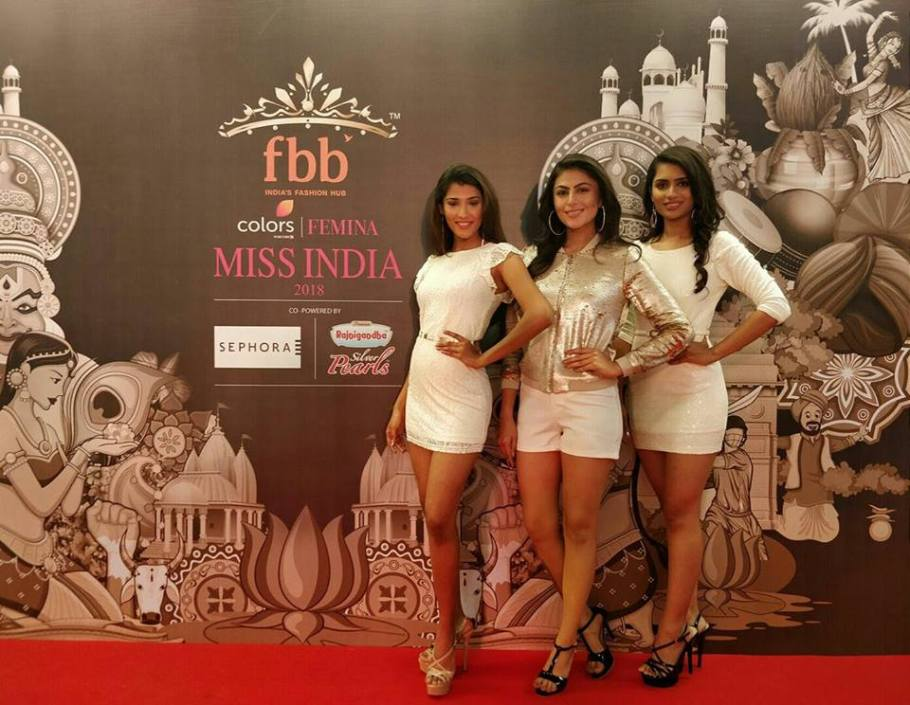 PQAS-2 winner Nehal Chudasama makes it to the Top 3 of Femina Miss India Gujarat 2018
