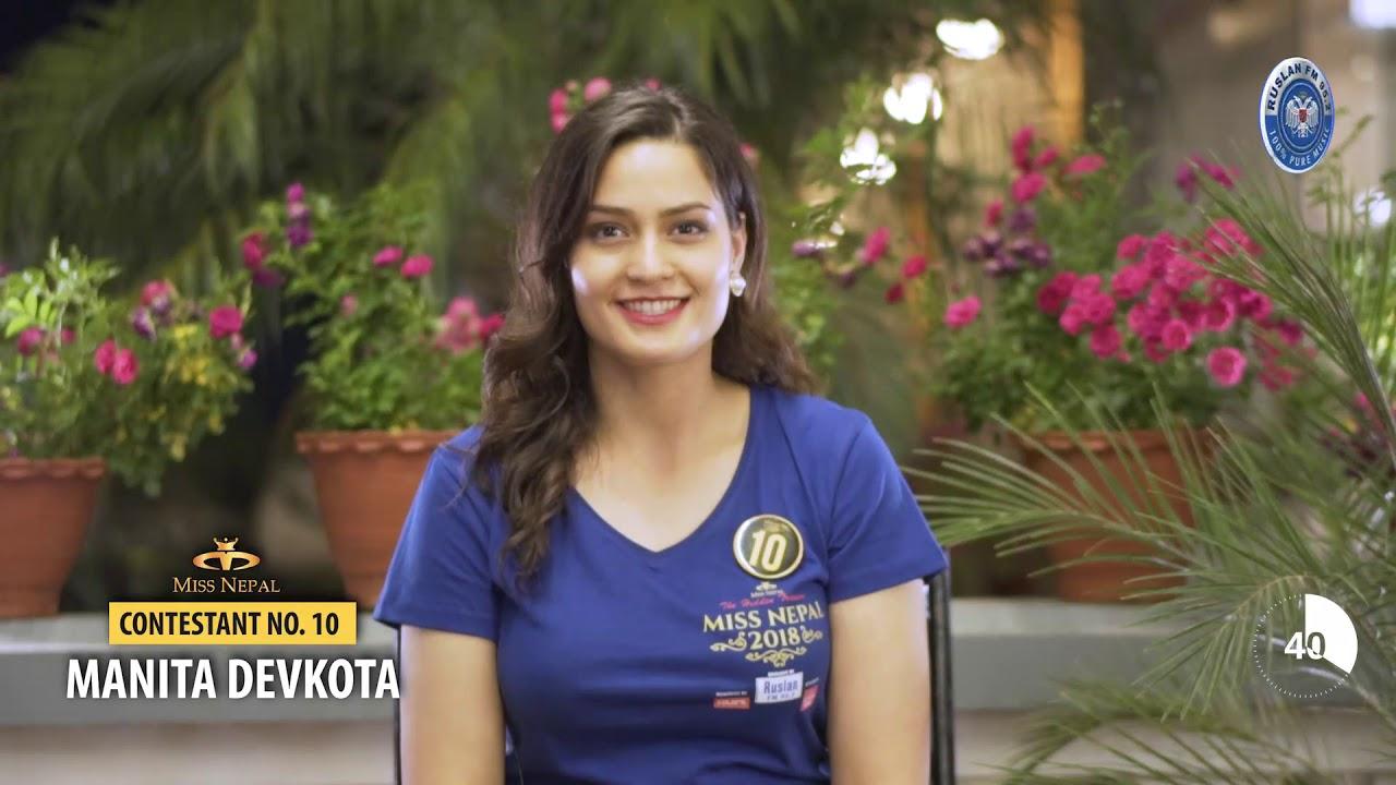 Manita Devkota crowned as Miss Universe Nepal 2018