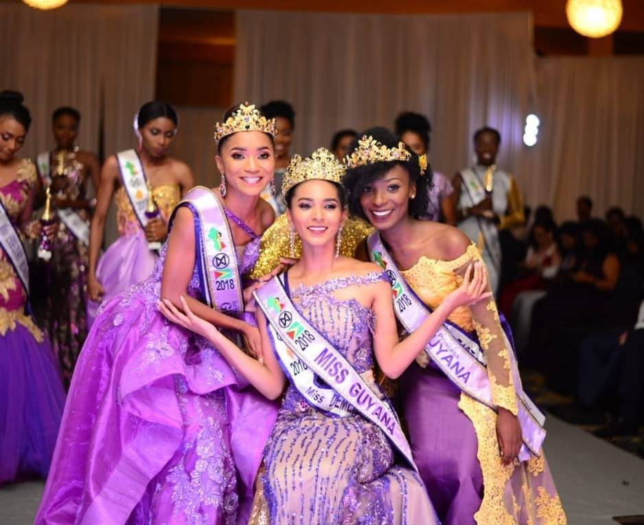 Ambika Ramraj crowned as Miss World Guyana 2018