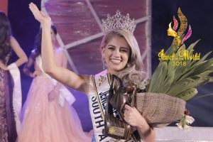 Neena Macaire from South Africa crowned as Jewel of the World 2018