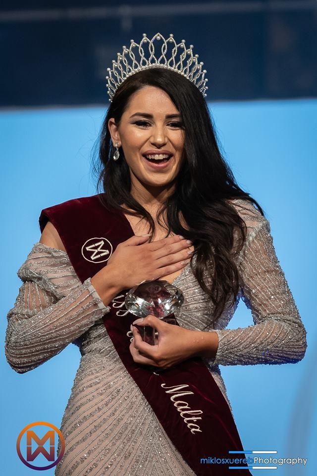 Marial Ellul wins Miss World Malta 2018