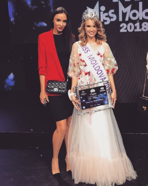 Tamara Zaretcaia crowned as Miss Moldova 2018