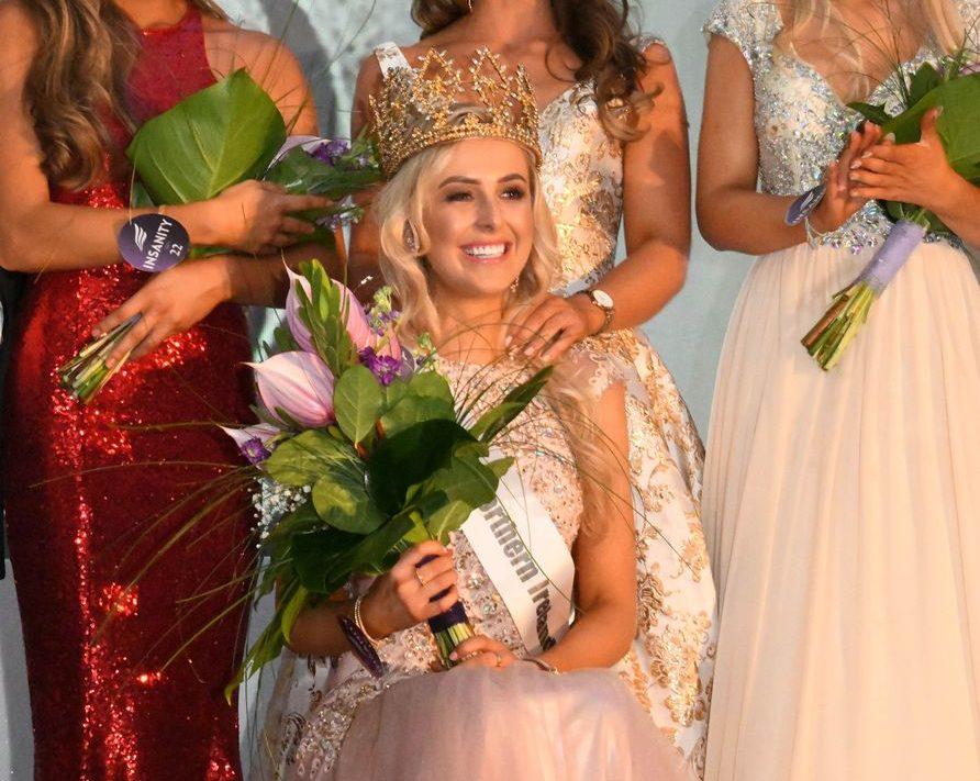 Katharine Walker crowned as Miss Northern Ireland 2018