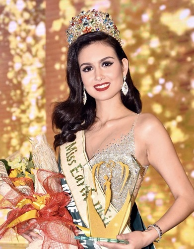 Silvia Celeste Cortesi crowned Miss Earth Philippines