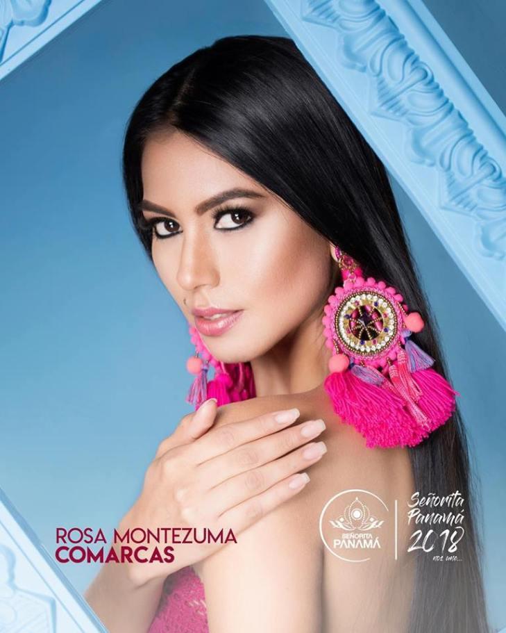 Rosa Iveth Montezuma wins Senorita Panama 2018