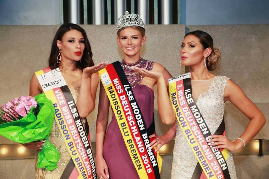 Olivia Moller crowned as Miss Duetschland 2018