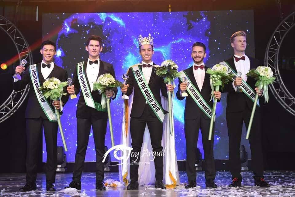 Xuan Tai from Vietnam wins Man of the World 2018