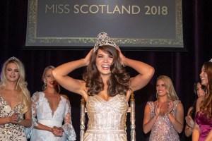 Linzi McLelland crowned Miss Scotland 2018