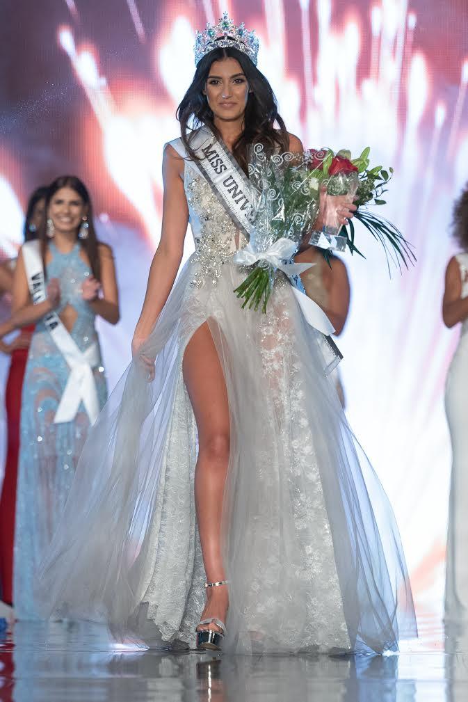 Francesca Mifsud wins Miss Universe Malta 2018