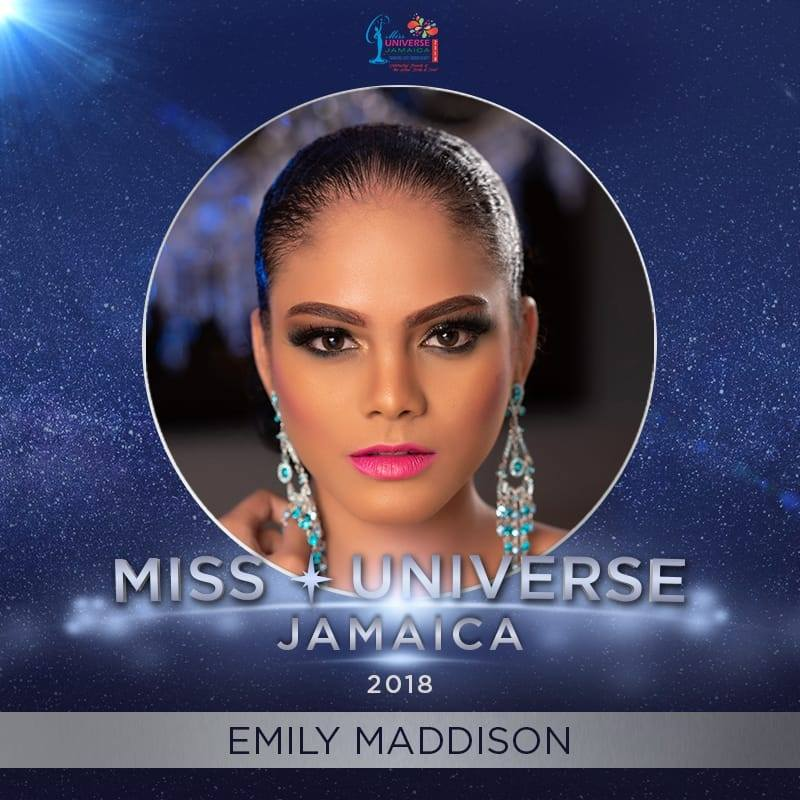 Emily Maddison wins Miss Universe Jamaica 2018