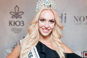 Karina Zhosan crowned Miss Universe Ukraine 2018