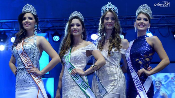 Anahi Hormazabal crowned Miss Mundo Chile 2018